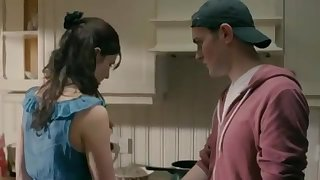Step-Brother Woos His Sis While After Parents Sleep