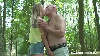 Having met old pervert well-intentioned fresh gal Lily Ray is fucked missionary