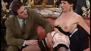 Amazing vintage sex scene with hot MILF