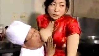 Cute japanese schoolgirl in unalterable uncensored